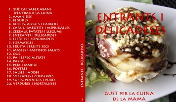 Vol. 7 Entrants i delicadeses